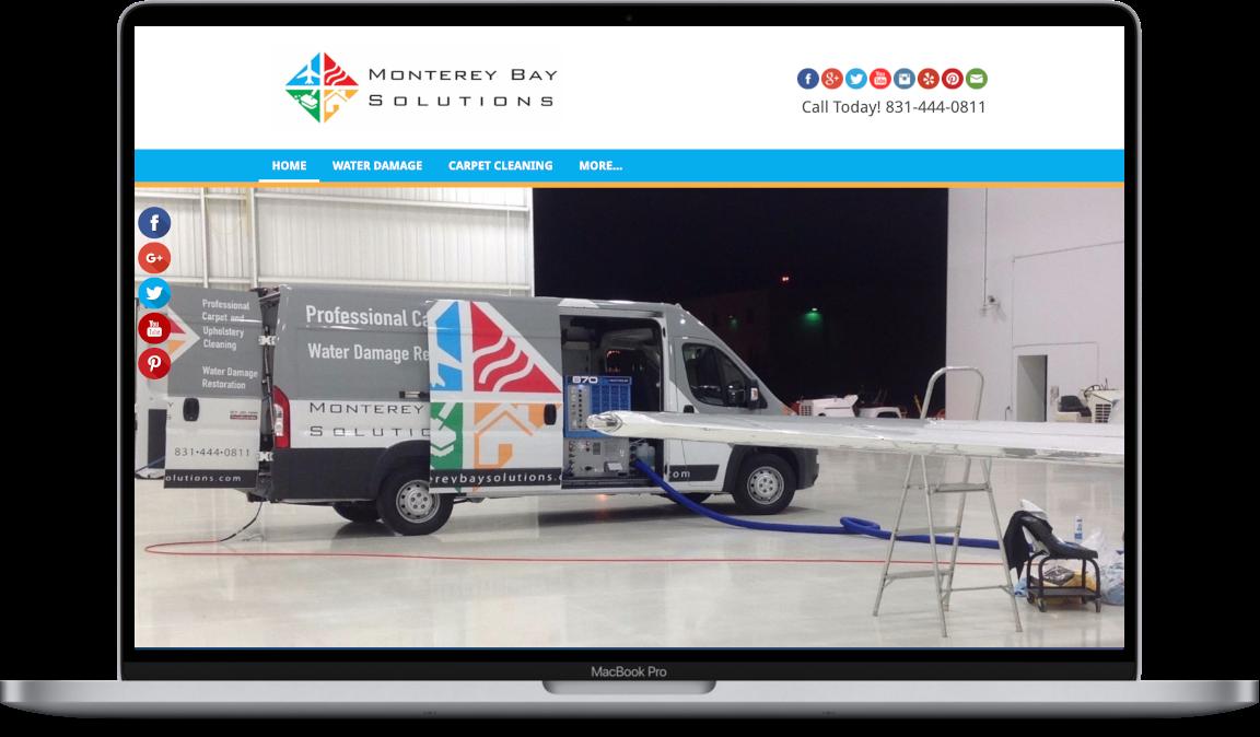 Website Design Monterey Bay Solutions